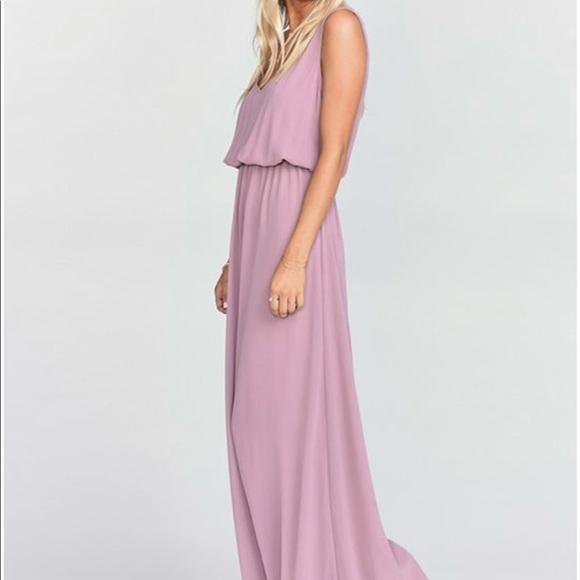 bfeba786ebc SHOW ME YOUR MUMU KENDALL MAXI DRESS ANTIQUE ROSE